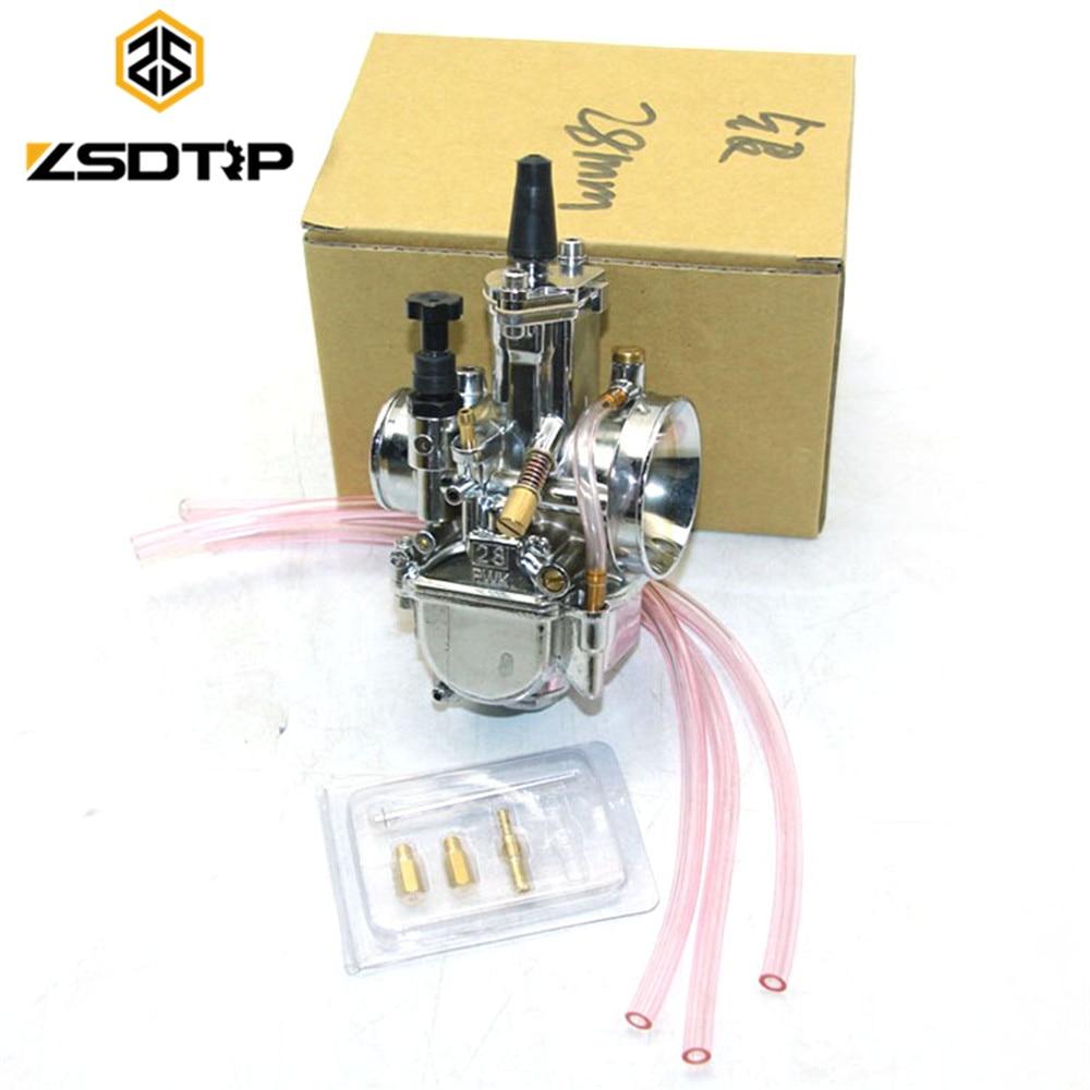 Transport gratuit ZSDTRP 28 30 32 34mm culoare argintie Pwk - Accesorii si piese pentru motociclete