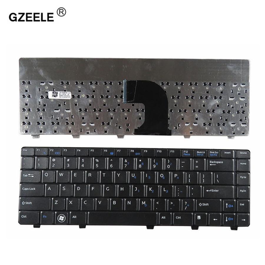 GZEELE New US Laptop Keyboard For Dell Vostro 3300 3400 V3300 V3400 P10G Black New English Keyboard
