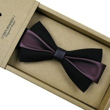 Dellarco di modo Cravatta Per Gli Uomini Bowtie Britannico Auto Tie Bow Cravatte Per Gli Uomini Cravatta Cravatta Dello Sposo Collare Accessori Cravate Versare homme