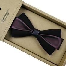 Mode Bogen Krawatten Für Männer Bowtie Britischen Selbst Krawatte Bogen Krawatten Für Männer Krawatte Krawatte Bräutigam Kragen Zubehör Cravate Gießen homme