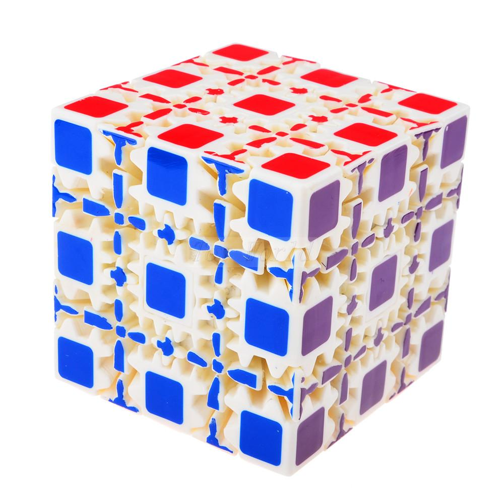 Magic Cubes 1pcs Brand New X-cube 6cm 2*2*2 Gear Magic Cube 3d Puzzle Cubes Educational Toy Special Toys With The Best Service