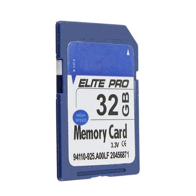 Новый 32 ГБ SDHC Высокая Скорость Безопасного Хранения Карты Памяти Для Цифровых Камара Видеокамеры (Размер: 32 ГБ, цвет: Синий)