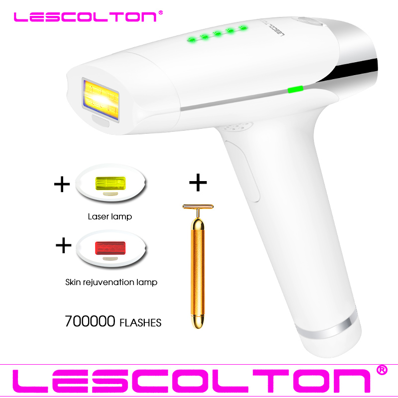700000times Laser IPL 3in1 depilador Permanent Hair Removal Machine Painless Face Body Beauty Machine Shaving Epilator