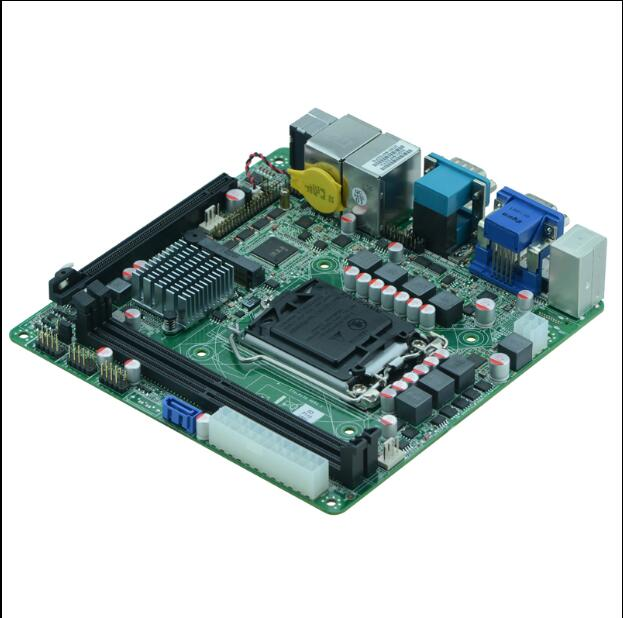 free ship,Mini HD player motherboards with 6 serial port Industrial motherboard, ITX-P110 VER1.1 h110 mini board for POS machine m945m2 945gm 479 motherboard 4com serial board cm1 2 g mini itx industrial motherboard 100