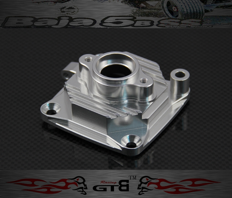 GTBRacing Enclosed Clutch Carrier FOR hpi km rv baja 5b ss GR023 double 2 spring clutch 7000rpm clutch assembly with alloy clutch mount fits 23 30 5cc gas engine zenoah cy hpi baja 5b ss 5t 5sc