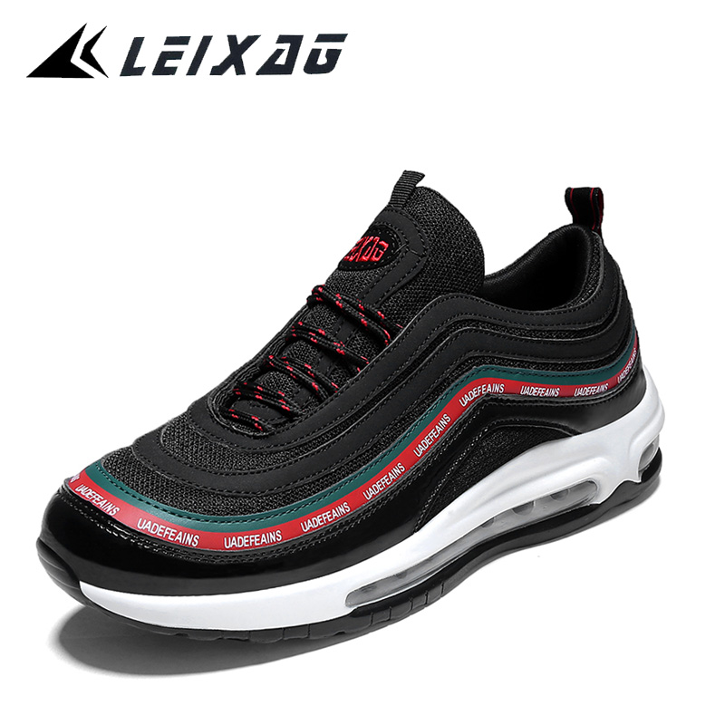 LEIXAG Men Running Shoes Outdoor Air Cushion Sports Shoes Men's Athletic Shoes Jogging Sneakers Male Training Shoes