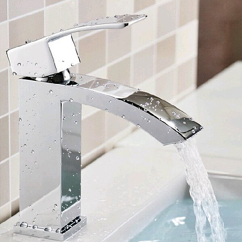 Home Basin Faucet Bathroom Taps Torneiras Para Banheiro Water Tap Bathroom Mixer for Sink Single Hole Cold and Hot Faucets bathroom basin faucets modern chrome finished bathroom faucet single hole cold and hot water tap basin faucet mixer taps
