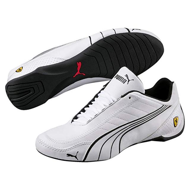 5c14f095f0913 US $40.99 18% OFF 2019 New Arrival Puma Mens Ferra ri Sf Future Cat Kart  Driving Athletic Shoes In White Flat Badminton Shoes Rounded Driver's  Out-in ...