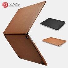 Housse en cuir véritable pour MacBook Pro 13 pouces à manches 2017, étui de protection pour ordinateur portable de luxe pour loisirs