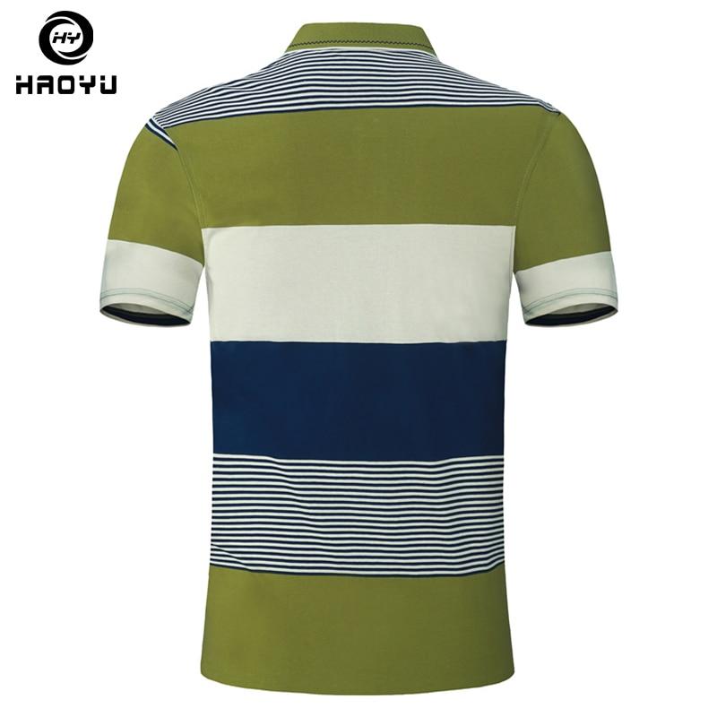 Camisa polo lühikeste varrukatega puuvill ja tähed Logo gradient - Meeste riided - Foto 3