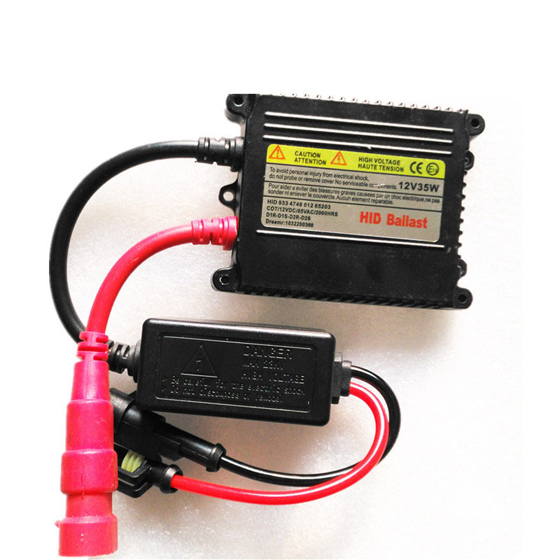 HID 35W DC Xenon Replacement Electronic Digital Conversion Ballast Kit for H1 H3 H4-1 H7 H11 H13 best promotion ac digital 35w slim for hid xenon replacement ballast universal h7 h1 h3 h11