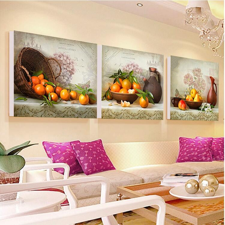 Juegos De Mesa Life Mosaic Juegos 5d Diy Diamond Painting Decoration Oranges Cross Stitc ...