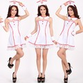 New 2016 Halloween Nurse Bra Sexy Female outfit Cosplay Uniforms Women's Sexy Nightclub Nurse Costumes Uniforms Nightgowns
