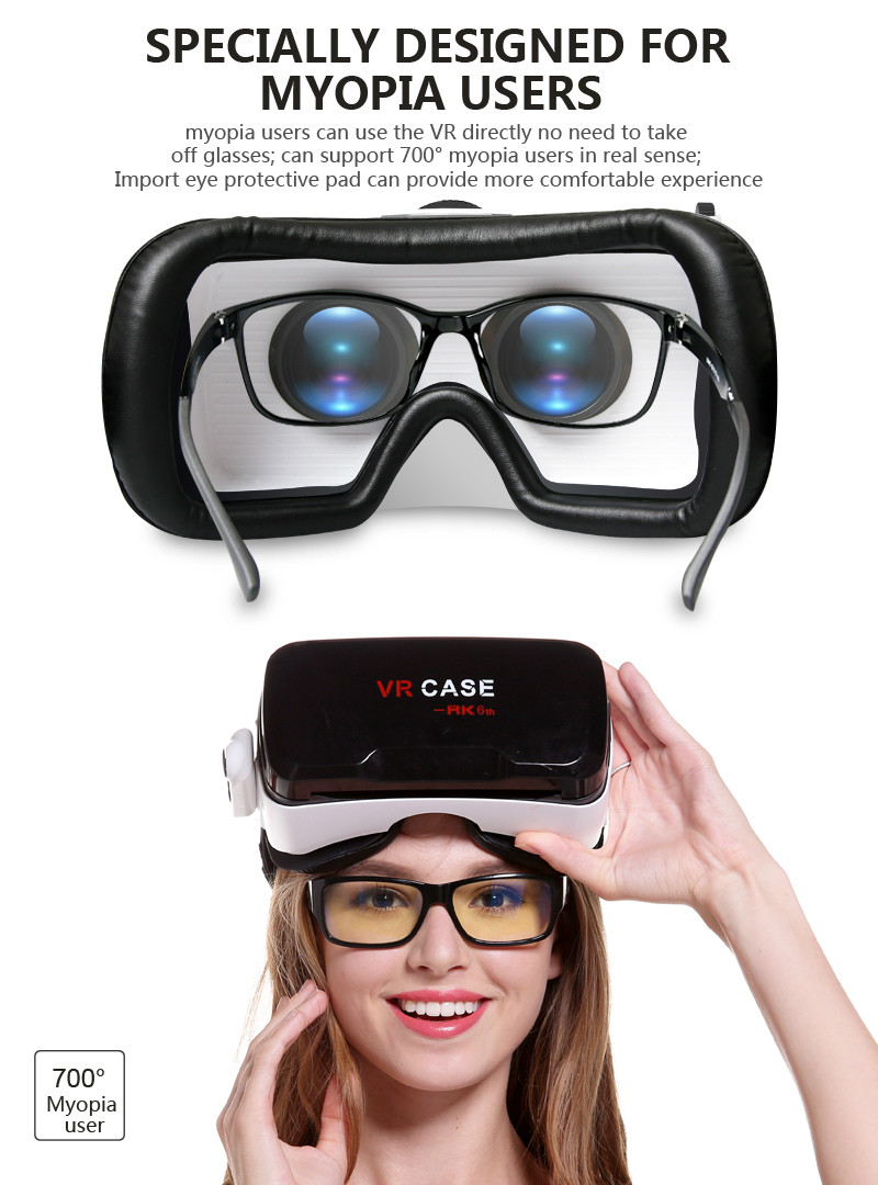 Virtual Reality Glasses VR Box Rirtual Reality Helmet Touch Function 3D Glasses VR Wearing Equipment 20