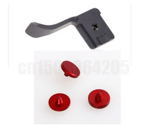 4in1 красный Спуск затвора объектива и пуговицы + Сцепление превью пальцем кнопку палец пряжки F Fuji X-Pro1 X-E2 X-A1 X100 x100s X10 X20 x-M1 X-