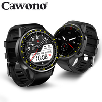 Cawono CN1 GPS Sim TF card Sport Wristwatch with Multi sport Dials Mode Camera Altimeter Smart Watch Heart Rate for Men Woman