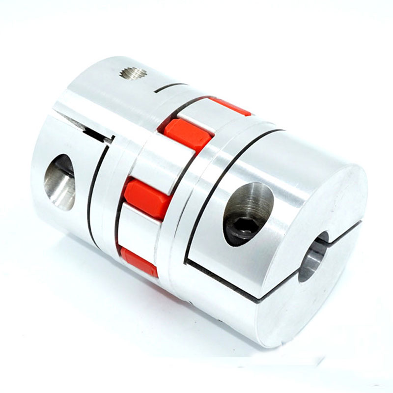 CNC Flexible Jaw Spider Plum Coupling Shaft Coupler D20L25 cnc plum shaft flexible jaw spider coupler 12mm 14mm motor coupling 12mm to 14mm dia 30mm length 35mm