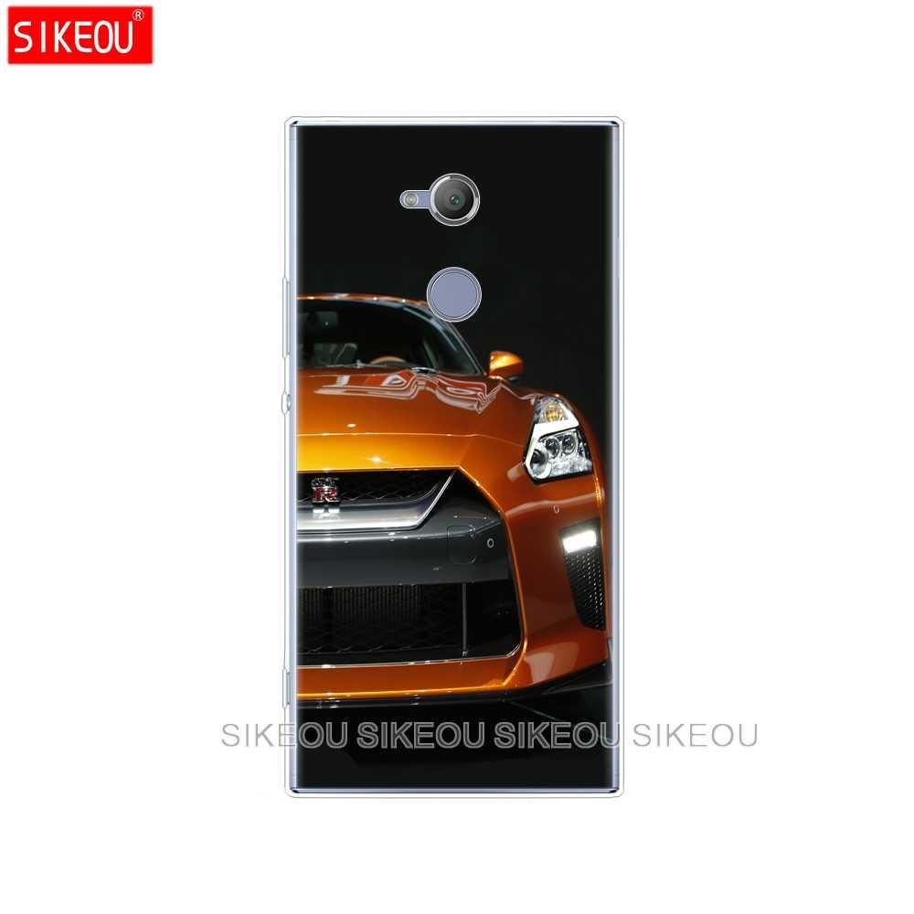 Silicone Bìa điện thoại Case cho sony xperia XA1 XA2 CỰC CỘNG VỚI L1 L2 XZ1 XZ2 nhỏ gọn XZ CAO CẤP GTR SPORT CAR in