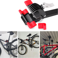 OUTERDO Wall Mount Heavy Bike Bicycle Maintenance Mechanic Repair Cycling Folding Clamp MTB Wall Mount Repair Stand