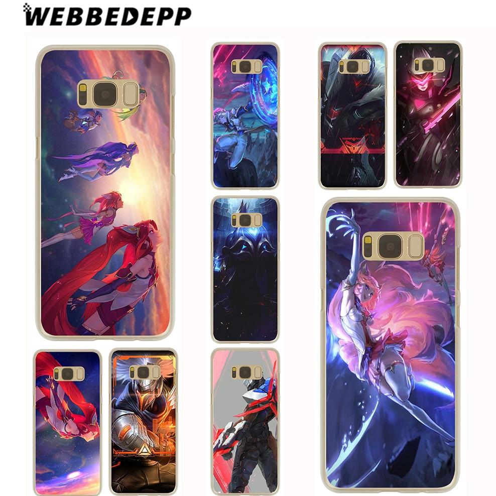 WEBBEDEPP Lol Star Guardians project Case for Samsung Galaxy S9 S8 Plus S7 S6 Edge Plus S5 S4 S3