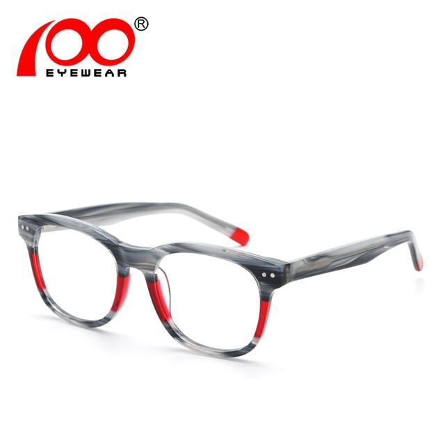 4e5d21a7776 Clear glasses frame men Acetate Popular Fashion brand designer optical  glasses  SRA051