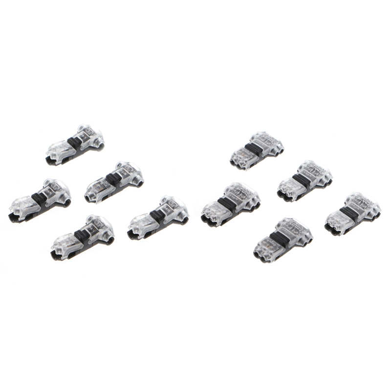 aliexpress com   buy 5 pcs quick wire connector t shape electrical butt splice 18 22awg single