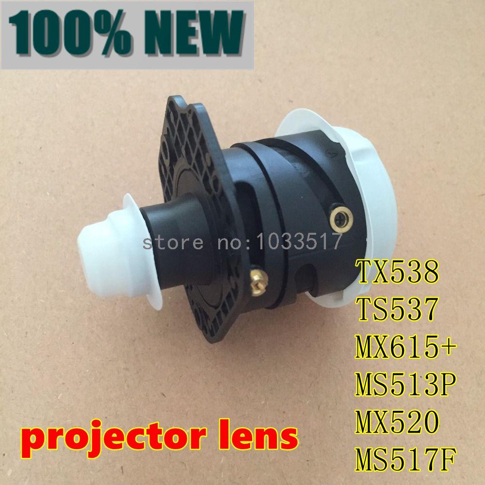 Nouvelle lentille de projecteur d'origine pour Benq TX538 TS537 MX615 + MS513P MX520 MS517F-in Projecteur Ampoules from Electronique    1