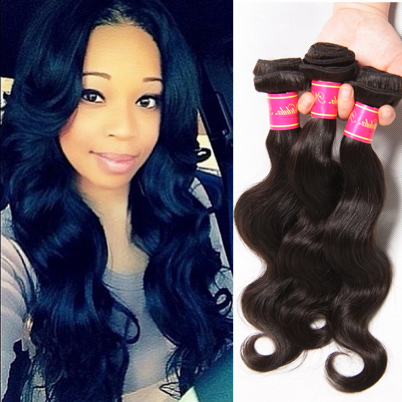 Eurasian Virgin Hair Body Wave 7A Human Hair Weave Online Eurasian Virgin Hair Bundle Deals