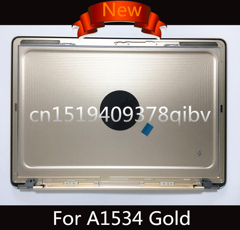 Brand New Gold 12 Laptop Lower Bottom Case Back cover for MacBook A1534 Replace Backcover 2015 2016 Years new original orange for lenovo u330 u330p u330t touch bottom lower case base cover lz5 grey 90203121