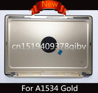 Brand New Gold 12 Laptop Lower Bottom Case Back cover for MacBook A1534 Replace Backcover 2015 2016 Years