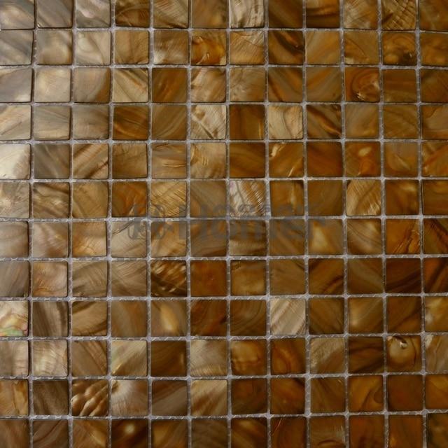 Braun Shell Mosaik Fliesen, Bad Mosaik, Küche Backsplash Mosaic Fliesen  Braun Perlmutt Mosaik Fliesen