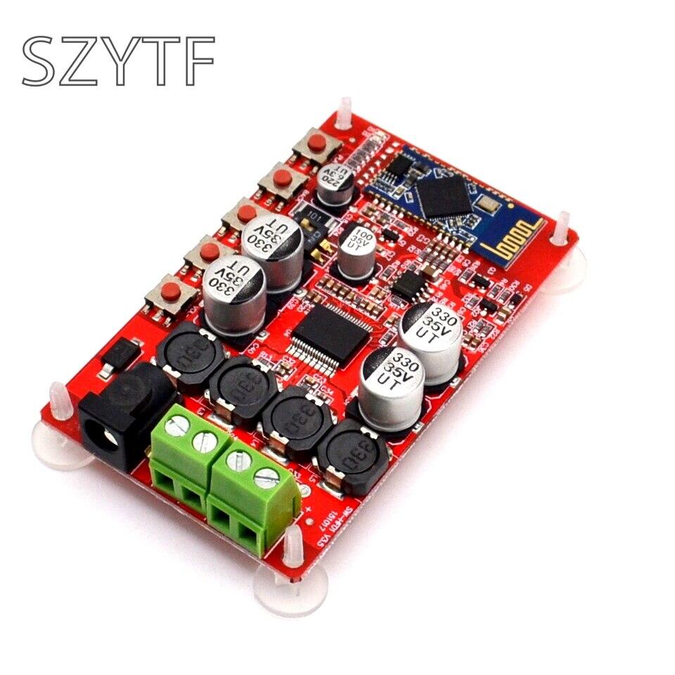 TDA7492P 50 W + 50 W Amplificador Digital Board CSP8635 Chip Bluetooth 4.0 BT Receptor de Áudio Amplificador Módulo Board Peças