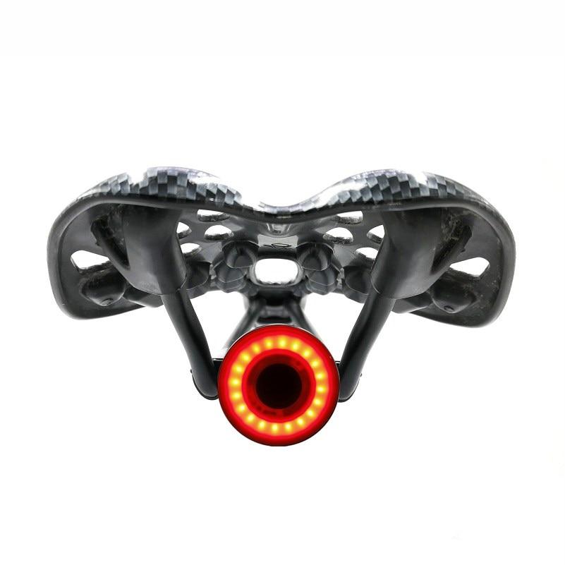 XLITE100 Fahrrad Taschenlampe Bike Hinten Licht Auto Start/Stop Brems Sensing IPX6 Wasserdichte LED Lade Fahrrad Radfahren Rücklicht