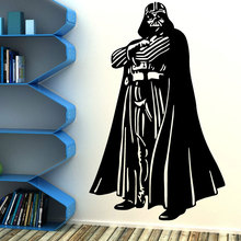 Star Wars movie character Darth Vader Art Deco Wall Sticker Vinyl Anime Movie Fans Home Decor DY04