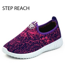 STEPREACH Brand shoes woman Snow boots women ankle Cotton Inside slip on adult round toe Winter