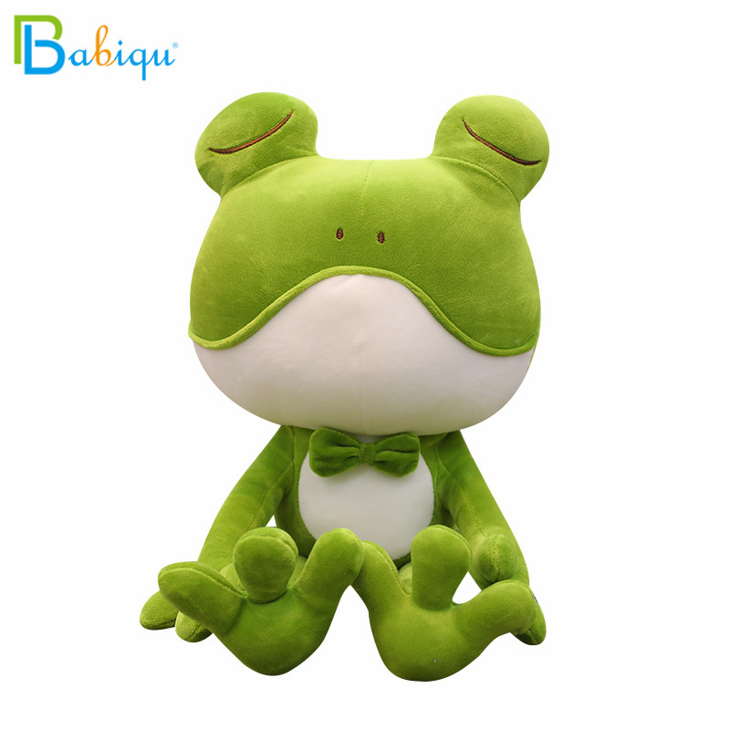 1pc 35/50cm Soft Stuffed Animal Plush Toys Long-legged Frog Doll Large Frog Prince Girls Toys for Children Birthday Gifts