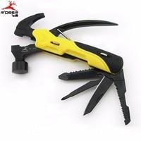 Multi Tool Outdoor Survival Knife 7 In 1 Pocket Multi Function Tools Set Mini Foldaway Plers