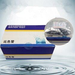 Galwanizacja odpadów cynku wody rura kolorymetryczna 0-10 metali ciężkich cynku litowo-jonowy zestaw do wykrywania szybki test pakiet papierek wskaźnikowy