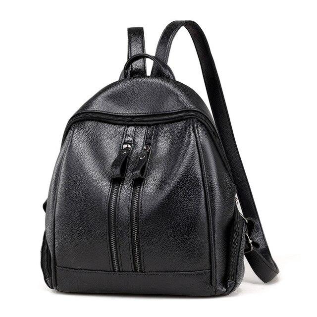 55381ab65c09 New Women Backpack Small Size Women Pu Leather Backpack Mini Backpacks  School Teenager Girl Women Daypacks