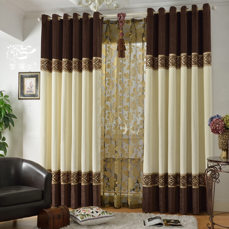 Cortina Cortinas Blinds Curtains Home Window Decoration