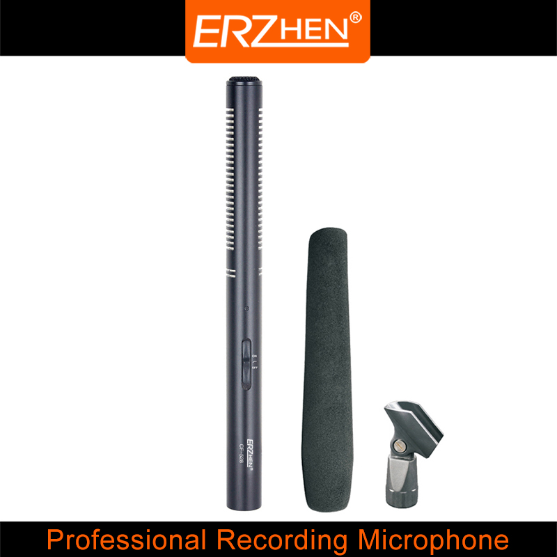 High Quality Interview microphone CF-526 Professional Recording Microphone nb 35 rotational professional recording microphone stand holder black white