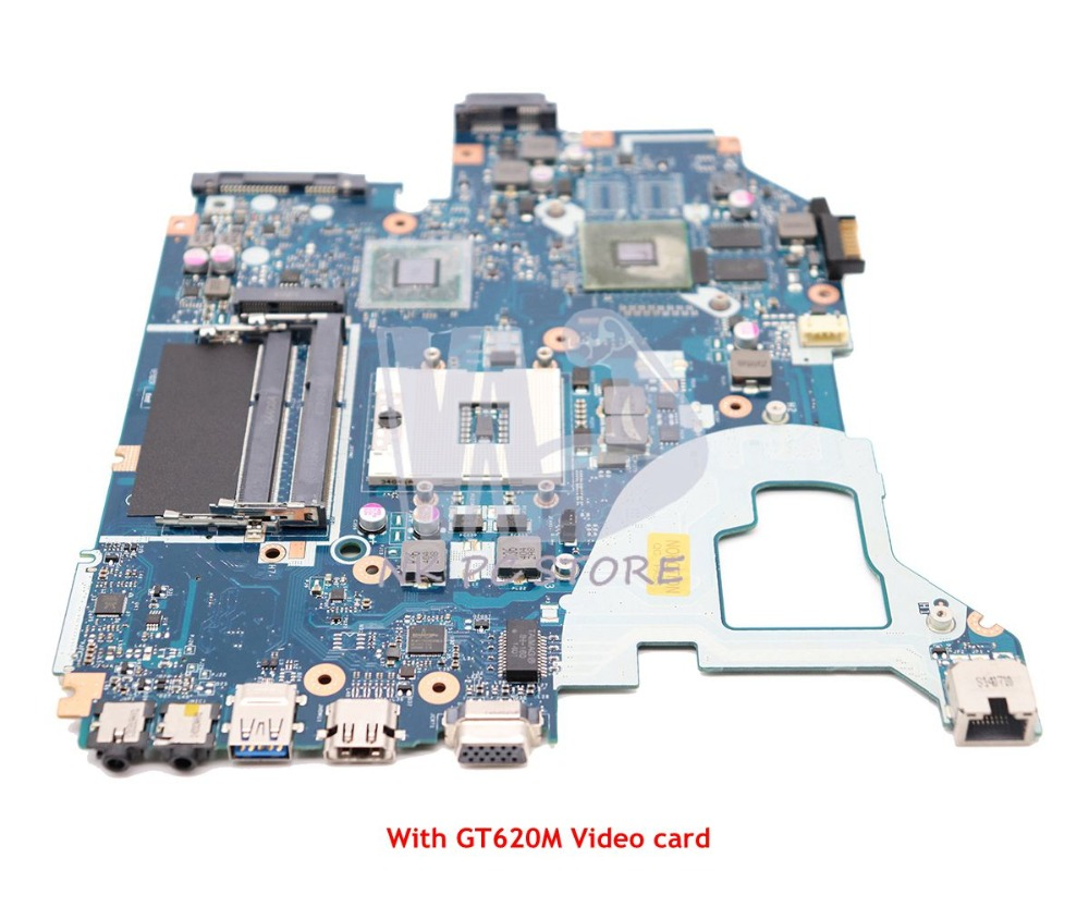NOKOTION For Acer Aspire V3-571G V3-571G Laptop Motherboard NBY1711001 NB.Y1711.001 Q5WVH LA-7912P HM77 DDR3 GT620M 1GB
