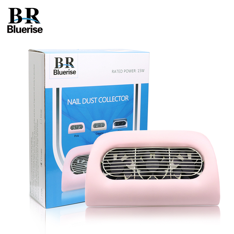 Nail Dust Collector Manicure Machine Vacuum Cleaner Suction ...