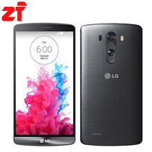 LG G3 D855 16g Original Unlocked GSM 3G&4G Android Quad-core RAM 2GB 5.5″ 13MP WIFI GPS 16GB Mobile Phone
