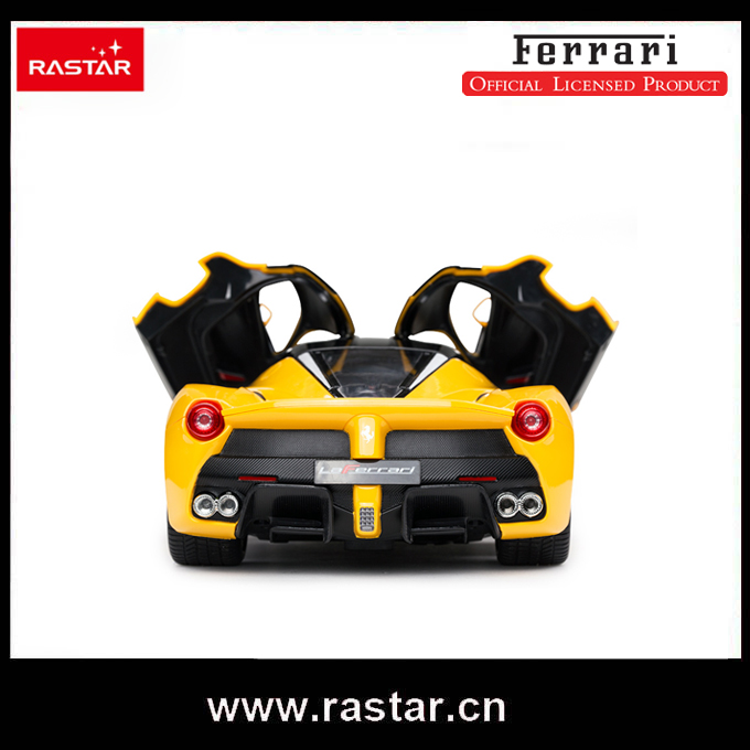 rastar licensed ferrari laferrari 114 open door with usb charging electric car for kids rc drift toy car 50160 in rc cars from toys hobbies on