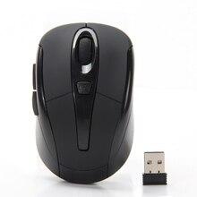 Профессиональный Мышь 2.4 ГГц Оптическая Беспроводная Мышь 6 Ключи Беспроводной USB Кнопка Игровая Мышь Игровой Мыши Компьютерная Мышь Для КОМПЬЮТЕРА ноутбук