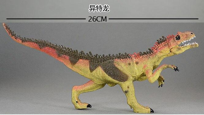 Simulation of rare eternal Allosaurus dinosaur model toys ...