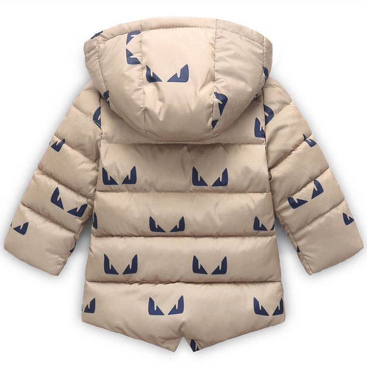 f4e89122d8bb Winter Jacket for Baby Cartoon Print Toddler Boy Jackets with fur ...