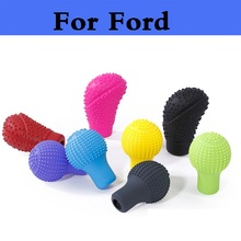 New Durable Handbrake Car Silicone Gear Shift Head Cover For Ford Fiesta Fiesta ST Five Hundred Flex Focus RS Focus ST Freestyle