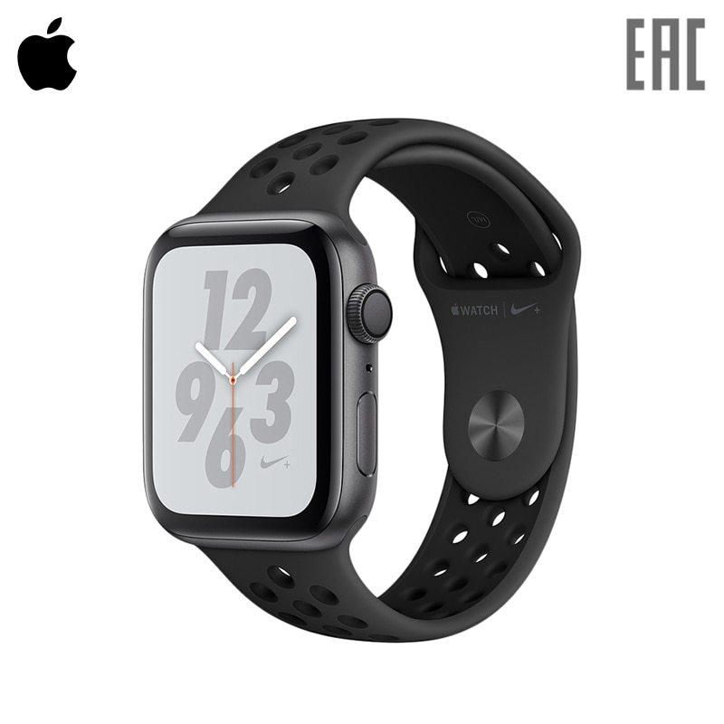 Купить со скидкой Смарт-часы Apple Watch S4, 44 mm, Nike+ Sport Band